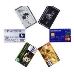 Usb 8gb Tarjeta De Crédito...